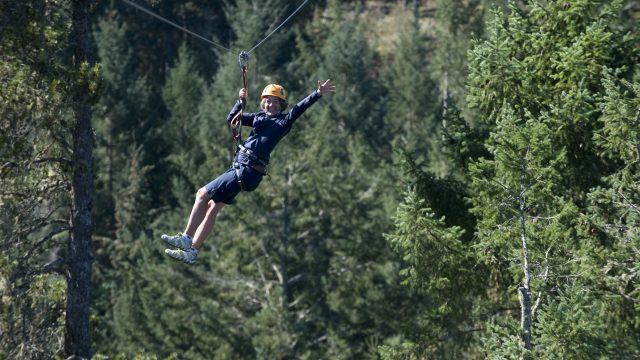 AdrenaLine Zipline Attractions Victoria
