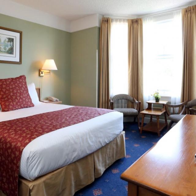 Hotel Room - Queen Bed
