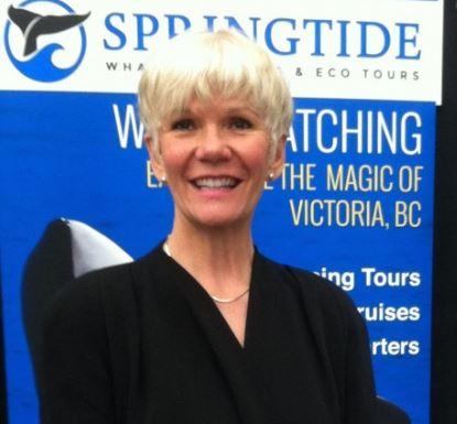 Joanne Kukat Springtide Charters Attractions Victoria